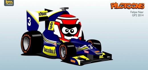 FELIPE NASR GP2 2014