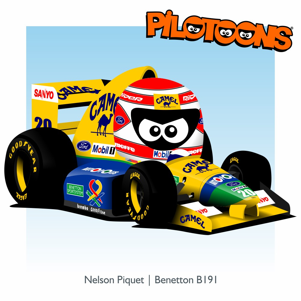 1991_PIQUET_benetton